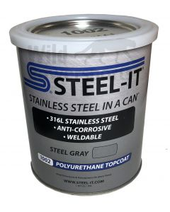 STEEL-IT Gray Polyurethane 1002Q (Quart)