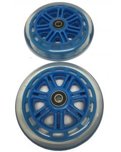 Blue 125mm Wheels