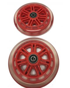 Red 125mm Wheels