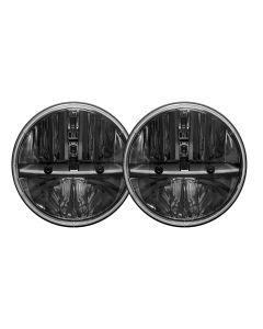 """7"""" Round Headlight W/h13h4 Adapt /2"""