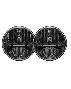 "7"" Round Ht Headlight W/pwm Adt /2"