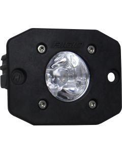 Ignite Spot Flush Mount Black