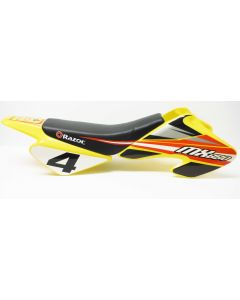 MX650 Seat w/ Body Fairing Complete - Yellow