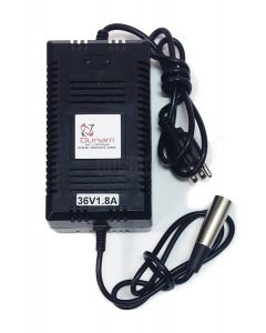 36V Battery Charger with XLR Connector