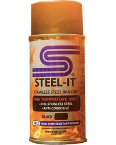 STEEL-IT 5912B - Black High Temp Coating (14oz Spray Can)