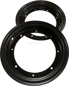 Honda CT70 Wheel (Flat Black)