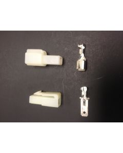 1 Pin White Battery / Motor Connector