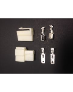2 Pin White Battery / Motor Connector
