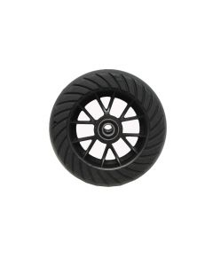 "Go-Ped Brand 6"" Hard Tire & Wheel Assembly (WITHOUT Standoffs)"