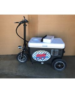 Cruzin Cooler CZ-HB (New Model w/ Hub Motor, Lights, Horn, and Phone Charger!)