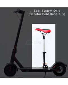 Scooter Seat (Fits Xiaomi M365, Dunarri Puma, and Bird, Lime and Lyft Scooters)