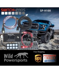 Switch Pros SP-9100  -  8 Switch Panel System