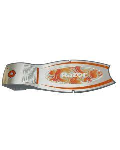 Razor E Spark Deck Plate w/ Grip Tape V41+
