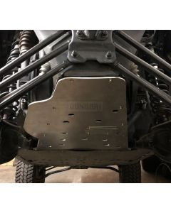 Aluminum Rear Skid Plate w/ Oil Door for Can-Am Maverick X3
