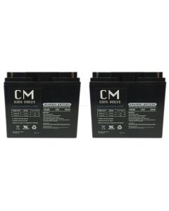 Batteries for 500 watt cruzin cooler