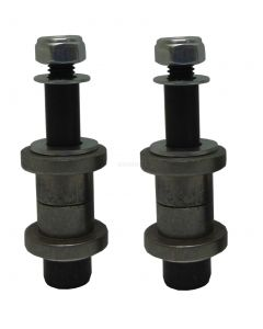 Dirt Quad Spindle Bushings w /Bolt & Hdwe (Set of 2)