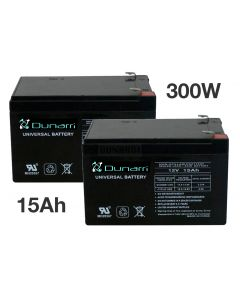 300W 15Ah upgrade battery set