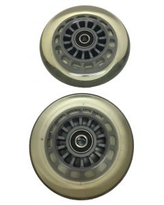 Ultra Pro 98mm Wheels w/ ABEC-7 Bearings - Clear
