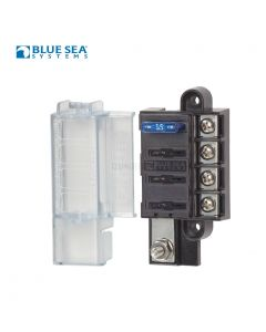 Blue Sea Systems 5045 ST Blade Compact Fuse Block - 4 Circuits