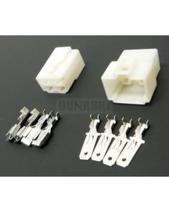 4 Pin White Battery / Motor Connector