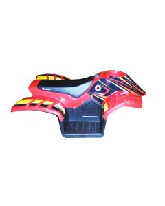 Razor Dirt Quad Body Fairing - Red