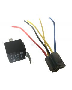12V - 40A Relay with Tab and Harness