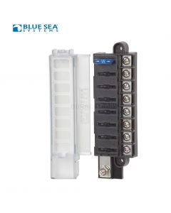 Blue Sea 5046 ST Blade Compact Fuse Block - 8 Circuits w/ cover