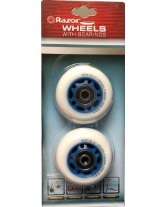 Razor PowerRider 360 WHITE Rear Wheels (Power Rider 360)