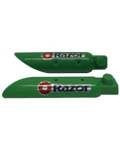 MX400 Front Fork Covers - Green (Set of 2)
