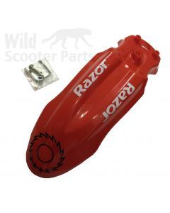 MX500 Front Fender (Red)