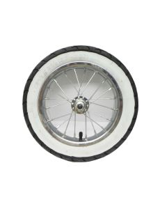 Razor Pocket Mod Front Wheel Complete w/ White Wall