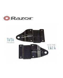 Crazy Cart XL Front Caster Bracket (V1+) (set of 2)