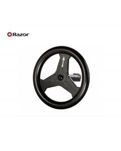 Razor Crazy Cart Shift Steering Wheel w/ Bolt (V1+)