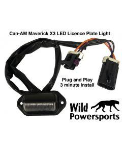 LED License Plate Light for Can-AM Maverick X3