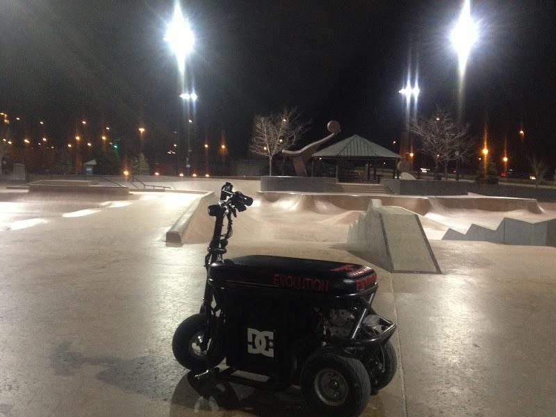 EVO at Skate Park