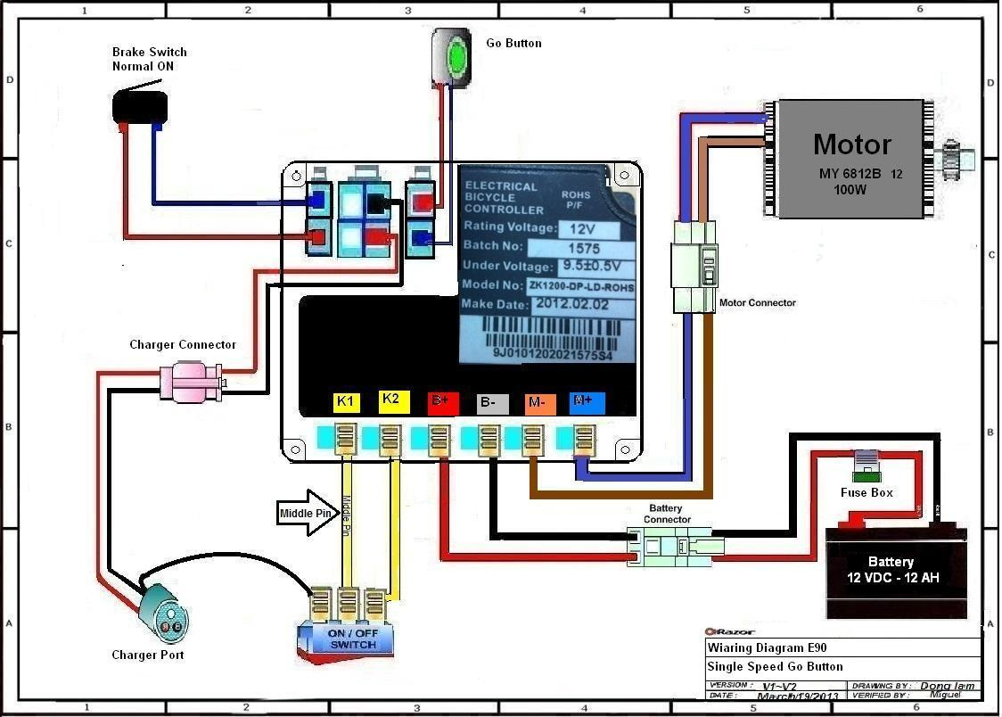 ... E90 (versions 1-2) Wiring Diagram ...